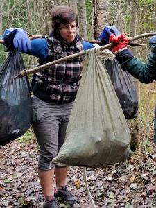 Эко-уборка на Ястребином озере